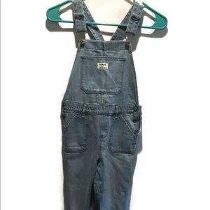 Osh Kosh Girls Overalls Size 8 Cuffed ankles